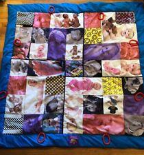 Baby Faces Photo Jumbo Crinkle Activity Quilt Playmat - Tupelo Toys