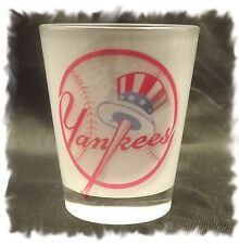 New York Yankees Frosted Shot Glass