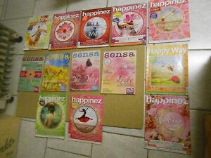 13 HEFTE HAPPINEZ / SENSA / HAPPY WAY  (Esoterik. Lebenshilfe)