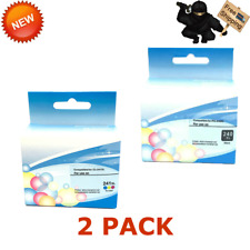 2 PK PG-240XL CL-241XL Black Color Ink For Canon PIXMA MG3220 MG3620 MX459 MX479