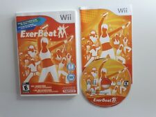 ExerBeat COMPLETE Nintendo Wii - CIB - RARE - FAST FREE SHIPPING WOW! RARE! OMG