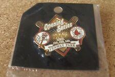 2005 NY New York Yankees vs Boston Red Sox Opening Series Fenway Park pin MLB