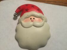 Hallmark Large Santa Face Pin