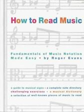 HOW TO READ MUSIC [9780517884386] - ROGER EVANS (PAPERBACK) like new