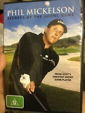 Phil Mickelson - Secrets Of The Short Game region 4 DVD (2 discs) golf program