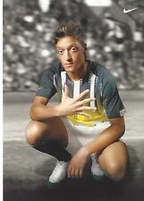 Mesut özil-DFB-campeón mundial - 2014-arsenal londres-nike-autografiada mapa-rar