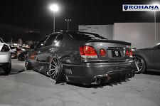 20x11 +28 Rohana RC10 5x114 Machine Black Chrome Lip Wheels Fit Lexus Gs300 2003