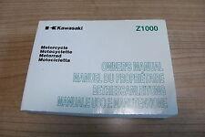 Betriebsanleitung Bedienungsheft Kawasaki Z 1000 A Modell 2003 , 2004 , 2005