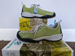 SCARPA Men's Mojito GREEN outdoor shoes size UK 11, EU 46 Hiking, Approach