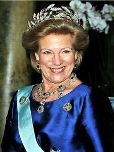 5 Postkarten Königin Anne-Marie von Griechenland