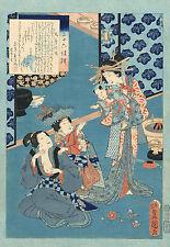 Japanese Art Print: The Courtesan Kokonoe: Fine Art Reproduction