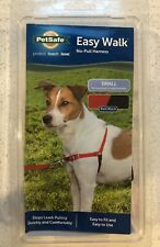 Pet Safe Easy Walk Red No Pull Dog Harness Small New in Package