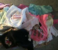 BUNDLE 25 ASSORTED GIRLS 12 - 18 MONTHS TOPS SPRING SUMMERWEAR  PREWORN