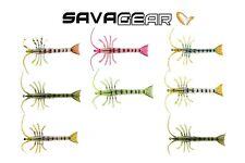Savage Gear TPE 3D Panic Popping Shrimp 4in 3/8oz 2 Bodies 1 Hook - Pick