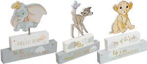 Disney Magical Beginnings Mantel Block - Dumbo / Bambi / Lion King