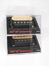 DiMarzio Regular Spaced PAF 36th Anniversary Neck & Bridge Set Black/Creme