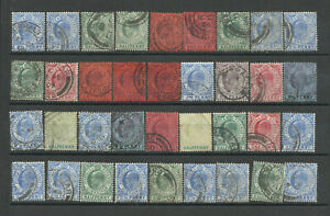 GIBRALTAR used stamps EDWARD 7 - used selection - not checked - POST FREE
