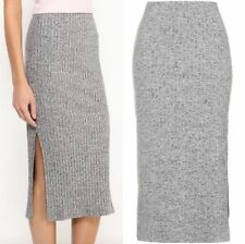 Topshop Calf Length Straight, Pencil Casual Skirts for Women
