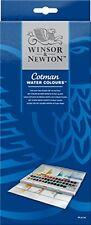 WINSOR e Newton Cotman WATER COLOUR PITTURE - 45 Half pani e pezzi staccati
