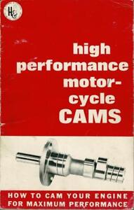 1968 Harmon Collins motorcycle camshaft theory & design small size book %1