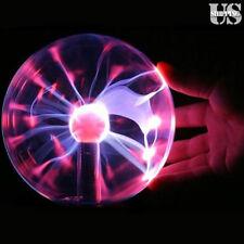 """6"""" Magic Crystal Globe Desktop Light Lightning Lamp Plasma Ball Sphere 110V"""
