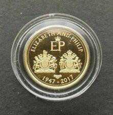 More details for 2017 quarter sovereign elizabeth and philip gold coin