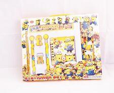 X5. 9pcsYellow Minion's stationary set @1.99 each