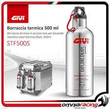 GIVI STF500S Borraccia termica acciaio inox per bevande, Thermal Flask Stainless