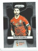 2018 Panini Prizm World Cup Soccer Sergio Ramos (Spain) Base #200