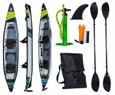 TAHE 21 Kayak Air Brise Complet HP Pro Gonflable Kanau Tours 3 Personnes 473