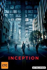 Inception (Blu-ray, 2017, 1-Disc Set)Terrific Condition**Blu Ray Disc only