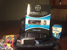 Bayer Contour USB Blood Glucose Monitoring Kit (7393)- No Coding