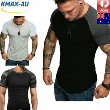 Men's Bodybuilding Tank Tops Muscle T-Shirt Sports Gym Fitness Tees Vest Summer