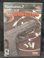 Gun Club GUNCLUB -  PS2 Playstation 2 COMPLETE Game 1 Owner Mint Disc