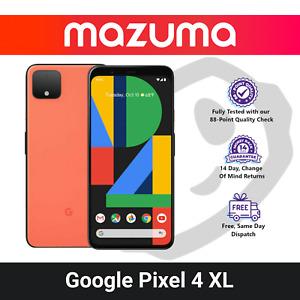 Google Pixel 4 XL - 64GB - 128GB - Black / White / Orange (Unlocked)