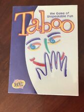 Vintage SEALED Taboo Game From 2000