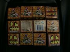 Lot Of 12 Minecraft Series 9 Spooky Mini figure Blind Boxes New