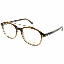 84a2576bb0c8 Tom Ford FT 5454 062 Light Tortoise Plastic Square Eyeglasses 50mm