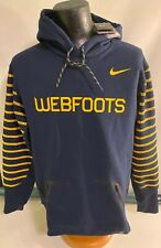 NWT Large Nike Therma-Fit Mighty Oregon Ducks Webfoots Throwback Football Hoodie