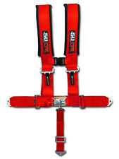 50 Caliber Racing Red Safety Harness 5 Point Seat Belt Polaris Side by Side RZR