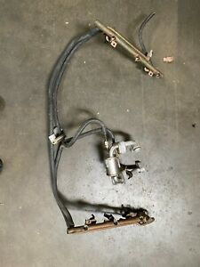 Porsche 911 996 Twin Turbo Fuel Rail Assembly with Cooler