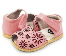 NIB Livie & Luca Carmen Rosey Pink Leather Shoes Sandals 2 Youth