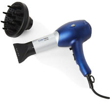 NEW Professional Salon CHI LOW EMF BERRY BLUE HAIR DRYER/ BLOW DRYER W/DIFFUSER