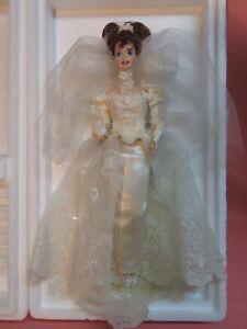 1995 Romantic Rose Bride Barbie LE, Wedding Flower Collection 14541 - NIB