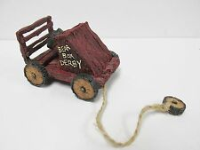 Boyd's #654250 * Tug Along Bearbox Derby * Pull toy * Brand New Mint