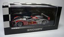 1 AUDI R10 LE MANS 2007 1:43 MINICHAMPS