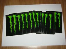 LOT DE 2 Autocollants  Stickers Monster Energy