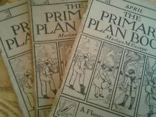 antique 1911 the primary plan book lot of 3A Flanagan company Chicago