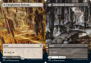 1x Brightclimb Pathway (285) // Grimclimb Pathway - BORDERLESS MTG Zendikar Risi