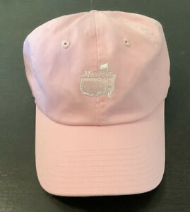 Masters American Needle Womens Pink Golf Hat Cotton Ladies Fit Pre Owned